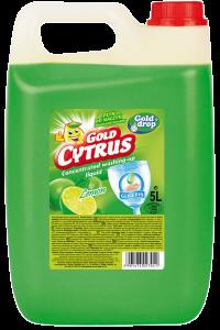Средство для мытья посуды GOLD CYTRUS 5л
