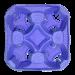 Держатель для 4-х стаканов фиолетовый