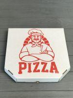 Коробка для пиццы с рисунком COOK 350*350*35 мм красная 10 шт