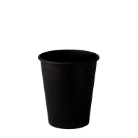 Стакан бумажный 185 мл ALL BLACK