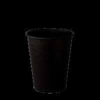 Стакан бумажный 250 мл ALL BLACK