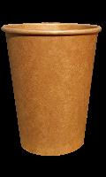 Стакан бумажный KRAFT PREMIUM 400 мл