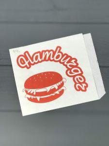 Упаковка для бургеров 150*125 мм 40 г/м2 100 шт
