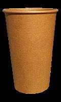Стакан бумажный KRAFT PREMIUM 500 мл