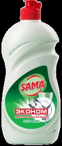 Засіб для миття посуду SAMA Економ 500 г Алое-вера