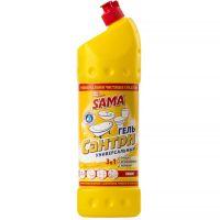 Средство чистящее универсальное Сантри гель SAMA 1л Лимон
