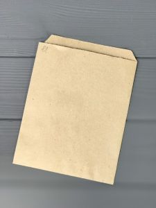 Пакет бумажный саше 170*130*0 мм 70г/м2 КРАФТ 100 шт