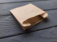 Упаковка для картошки фри 115*110*50 мм 70 г/м2 100 шт КРАФТ