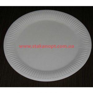 Тарелки бумажные ламинированные d=17 см 100 шт
