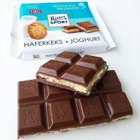 Шоколад RITTER SPORT Haferkeks+Joghurt Овсяное печенье + йогурт 100 г