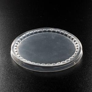 Крышка пластиковая плоская на стакан РР d-95 мм 100 шт