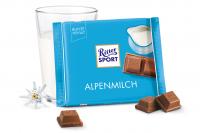 Шоколад RITTER SPORT Alpenmilch Альпийское Молоко 100 г
