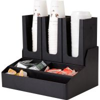 Диспенсер для паперових стаканів та інгредієнтів на 6 секцій