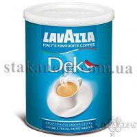 Кофе молотый Lavazza Decaffinato 250г 30/70 без кофеина банка