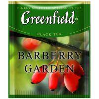 Чай черный пакетированный Greenfield Barberry Garden 100 шт Барбарис