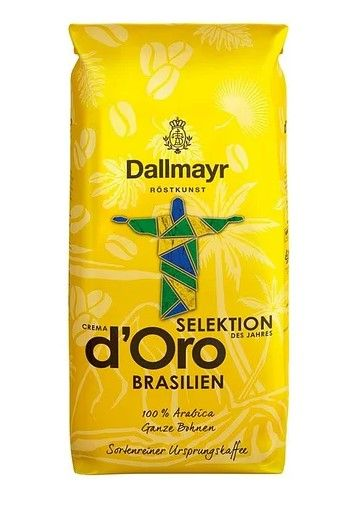 Кава в зернах DALLMAYR Selection Brazil 100% Arabica 1 кг