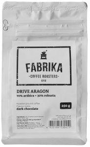Кава мелена Fabrica DRIVE ARAGON 250 г 70/30