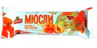 Батончик-мюслі СПАРТАК злаки з персиком 35 г