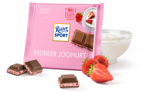 Шоколад RITTER SPORT Erdbeer Joghurt Клубничный Йогурт 100 г