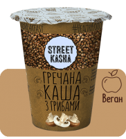 Каша Street Soup Гречневая с грибами 50 г стакан