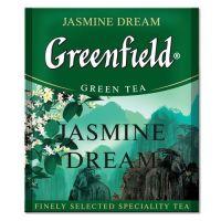 Чай зеленый пакетированный Greenfield Jasmine Dream 100 шт Жасмин
