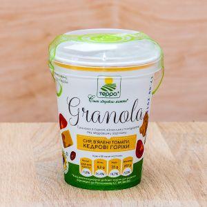 Гранола ТЕРРА Сыр, Вяленые томаты, Кедровые орехи стакан 50 г
