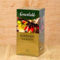 Чай черный пакетированный Greenfield Barberry Garden 25 шт Барбарис