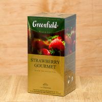 Чай черный пакетированный Greenfield Starawberry Gourmet 25 шт Клубника