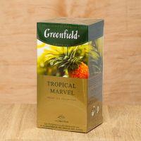 Чай зеленый пакетированный Greenfield Tropical Marvel 25 шт Ананас