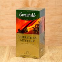 Чай черный пакетированный Greenfield Christmas Mystery 25 шт Корица