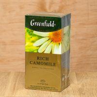 Чай травяной пакетированный Greenfield Rich Camomile 25шт Ромашка крупная