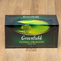 Чай зеленый пакетированный Greenfield Flying Dragon 25 шт