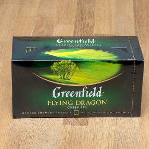 Чай зелений пакетований Greenfield Flying Dragon 25 шт
