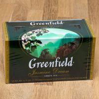 Чай зеленый пакетированный Greenfield Jasmine Dream 25 шт Жасмин