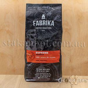 Кава зернова FABRIKA Supreme Arabica 100% 1кг