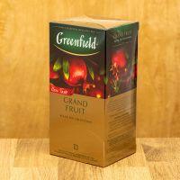 Чай фруктовый пакетированный Greenfield Grand Fruit 25 шт Гранат