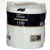 Полотенца бумажные Papirella на гильзе Got Paper 2 слоя 1рул