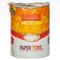 Полотенца бумажные Papirella на гильзе 7XL 2 слоя 1рул