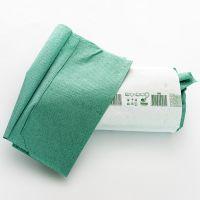 Полотенца бумажные V 25х22 см 1 слой зеленые 160шт