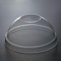 Кришка пластикова на РЕТ купол без отвору 50шт