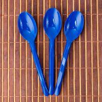 Ложки столовые 16см 50шт синие