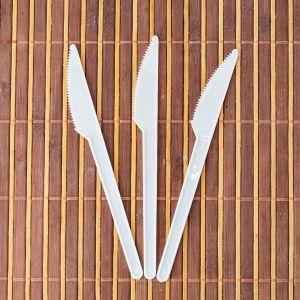 Ножі 16см 100шт білі