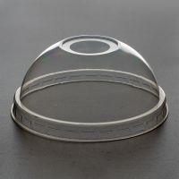 Кришка пластикова на РЕТ купол з отвором 50шт