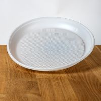 Тарелки пластиковые d=16,5 см 100шт белые