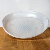 Тарелки пластиковые d=20,5 см 100шт белые