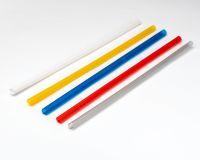 Трубочки Фреш d=6.8мм L=210мм 500шт кольорові
