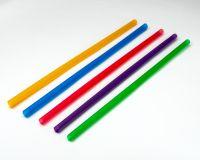 Трубочки Фреш d=8.0мм L=250мм 500шт кольорові