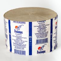 Туалетная бумага Альбатрос d=14 см макулатурная 1рул