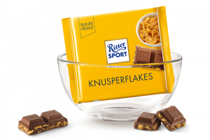 Шоколад RITTER SPORT Knusperflakes Кукурудзяні пластівці 100 г
