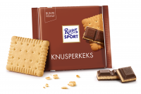 Шоколад RITTER SPORT Knusperkeks Хрустке печиво 100 г